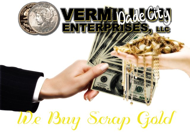 VERMILLION ENTERPRISES - BUY GOLD ONLINE - SELL GOLD ONLINE - IN STORE OR ONLINE - WE BUY SCRAP GOLD - we buy scrap gold jewelry, broken gold, unwanted gold, no longer worn gold, necklaces, chains, earrings, bracelets, dental gold, class rings, gold wedding bands, gold bridal sets, platinum bridal sets, silver jewelry, scrap gold - sell yours at spring hill gold and coin shop - vermillion enterprises - 5324 spring hill drive, spring Hill Fl 34606 - 352-585-9772