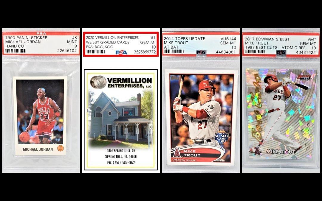 sports cards, graded sports cards, memorabilia, we buy graded sports cards, authenticated, autographed, psa, bgs, sgc, grading guide - Dade City